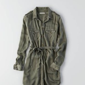 American Eagle Twill Tshirt military dress utility